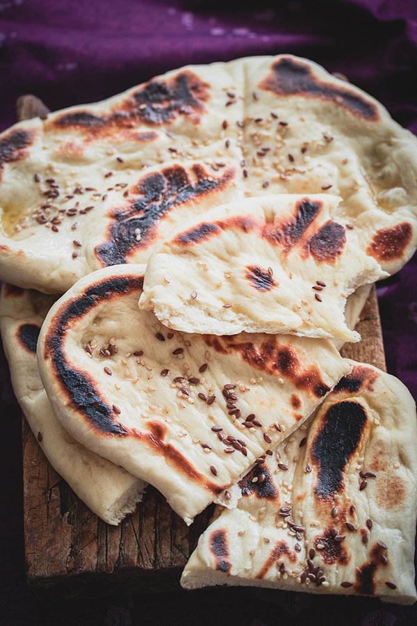 Naan kruh iz Indije