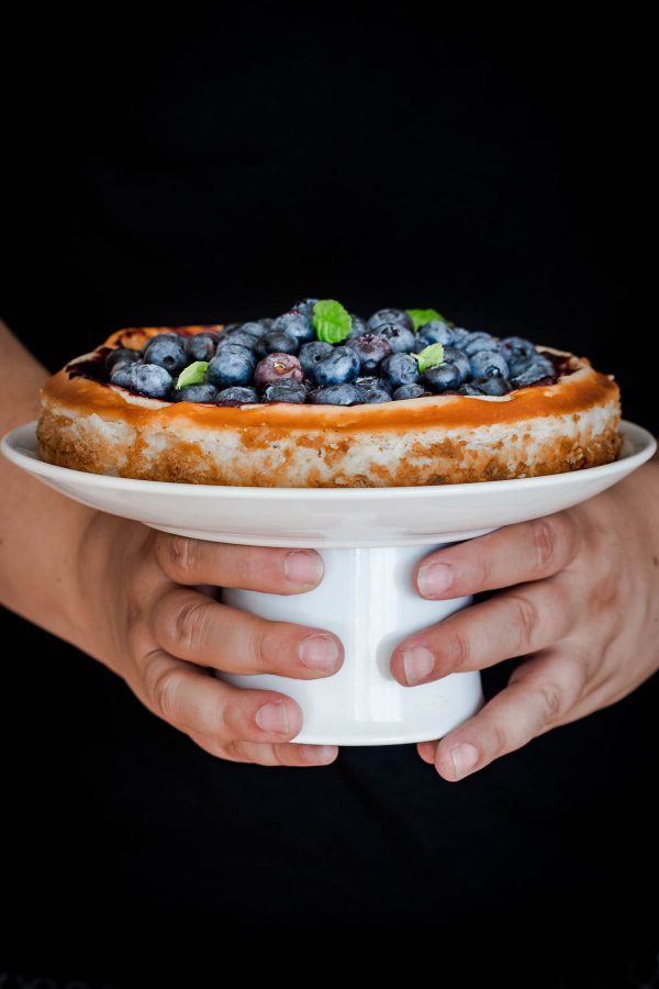 Cheesecake s borovnicama