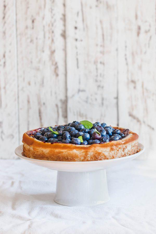 Ricotta cheesecake s borovnicama
