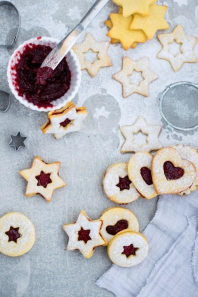 Linzeri - Božićna kuharica