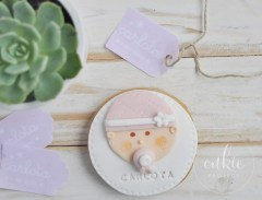 Galletas decoradas para bautizos, galletas bebés
