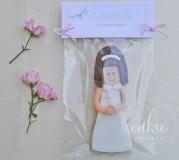 Galletas decoradas comuniones Niña de Comunión - Cukie Project