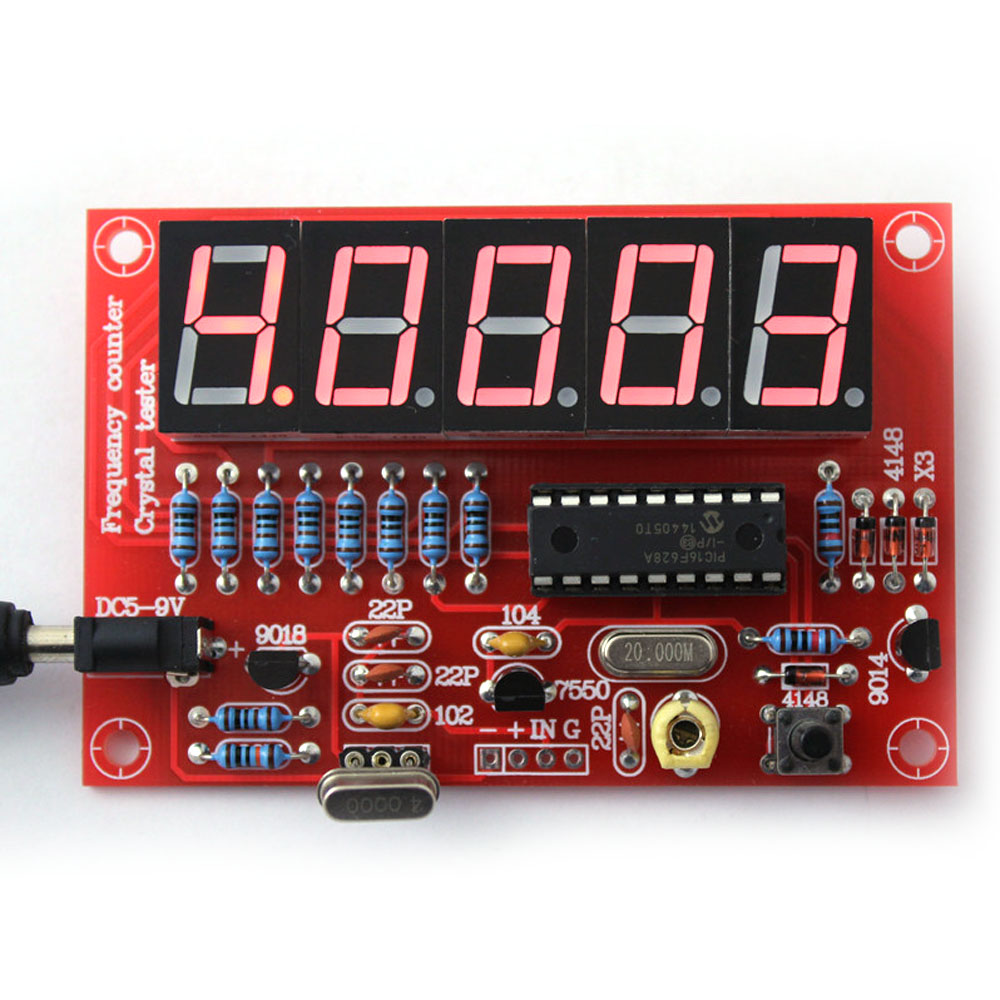 50mhz Crystal Oscillator Frequency Counter Tester Diy