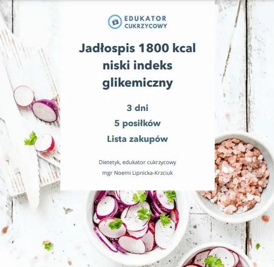 3 dniowy jadlospis dla cukrzyka insulinooporność Edukator cukrzycowy Dietetyk Noemi