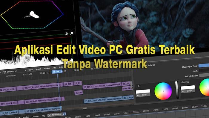 aplikasi edit video laptop ringan gratis
