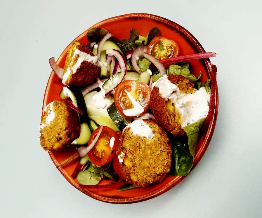 Falafel Salad VE