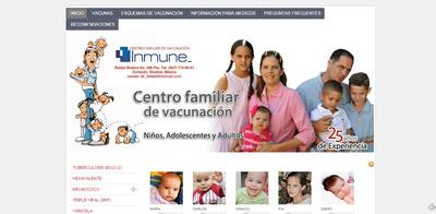 web centro vacunacion inmune