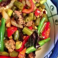fermented sichuan green beans or long beans