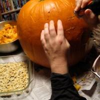 dirty pumpkin seeds