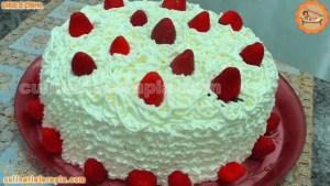 Torta Deliciosa de Morangos