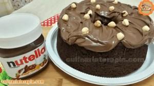 Bolo Fofíssimo de Nutella e Chocolate Fácil e Rápido