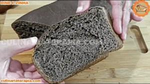 Pão de cacau sem ovo e sem leite
