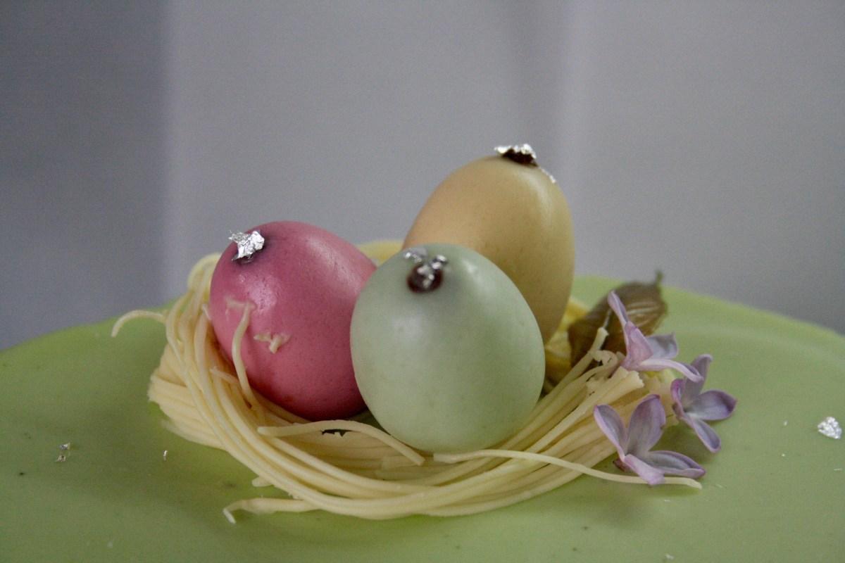 Kyoto matcha torta -villantós :)