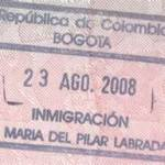 Colombian Stamp
