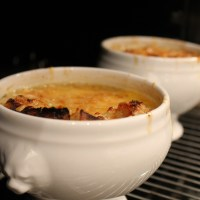 French onion soup to keep you warm