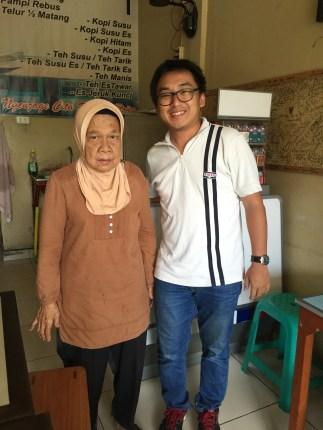 with Mak Janah