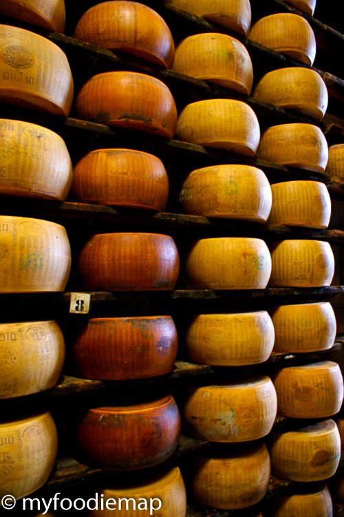 parma cheese tour Bologna