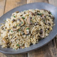 Mushroom and sage rice pilaf is an earthy and perfectly seasonal side dish full of fall flavors that is quick and easy to make and will become your new favorite rice dish.