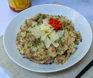 Keto Cut Meals: Cheesesteak Risotto