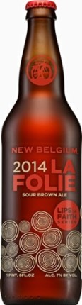 La Folie Sour Brown Ale barrel-aged beer