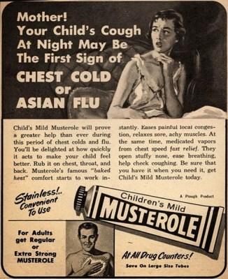 Vintage Musterole ad