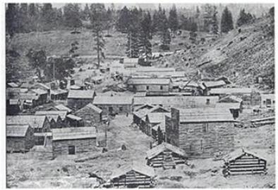 Hangtown (Placerville) during the Gold Rush, circa 1850