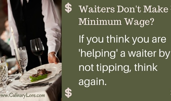 Is It True That Waiters Don't Make Minimum Wage