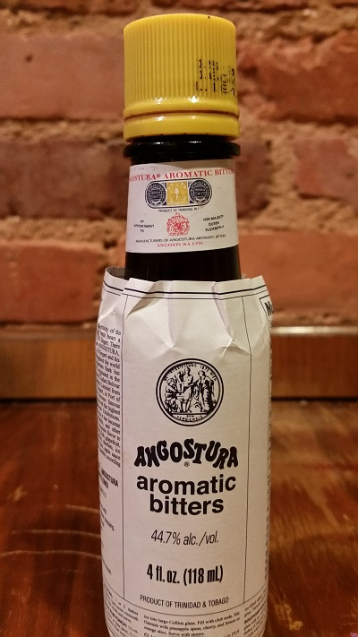 bottle of Angostura bitters