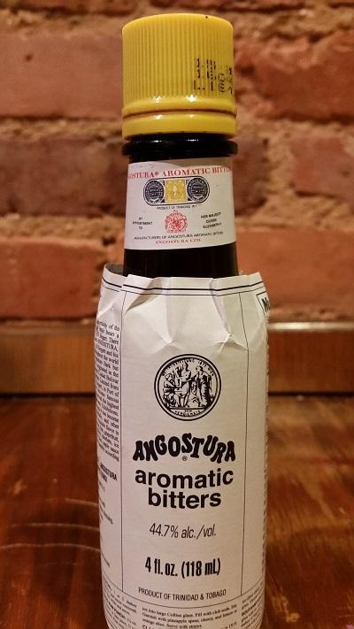 bottle of Angostura bitters