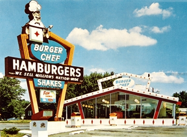 urger Chef restaurant from 1960's