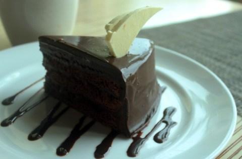 dessert of chocolate cake
