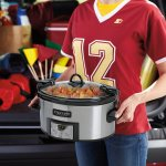 Crock-Pot SCCPVL610-S Programmable Cook and Carry Oval Slow Cooker