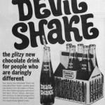 Pepsi's Devil Shake vintage ad