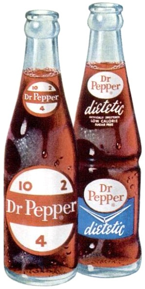 Diatetic Dr Pepper vintage ad