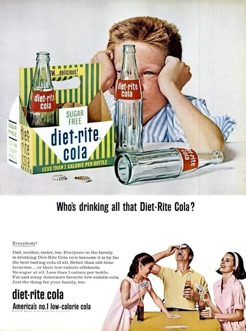when was the first diet soda commercially produced