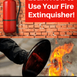 know how to use your home fire extinguisher
