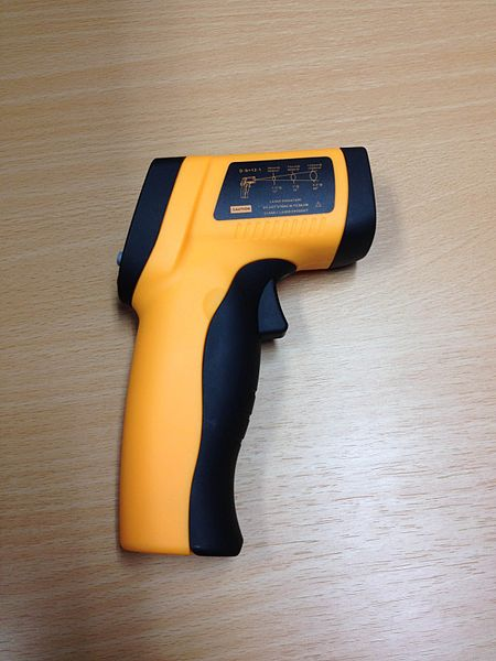 laser infrared laster thermometer