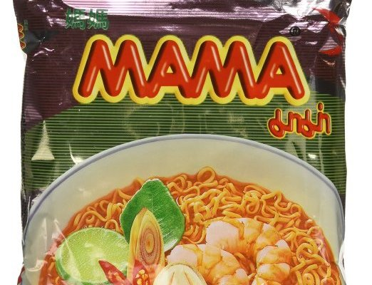 MAMA Thai flavored tom yum instant noodles