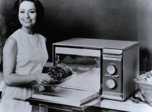 Early microwave oven advertisment