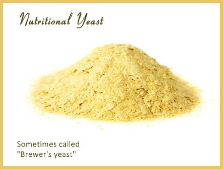 Nutritional yeast sometimes called brewer's yeast, image© monamakela.com