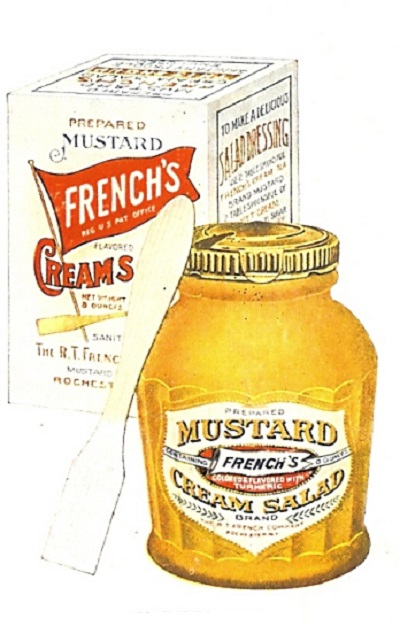 vintage French's mustard ad