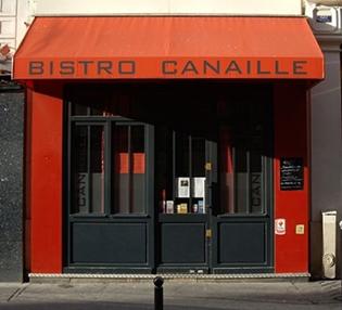 """Bistro Canaille"""", rue Lamartine, Paris 9e"""