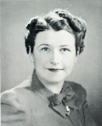 Ruth Wakefield, inventor of Toll House chocolate chipe cookies