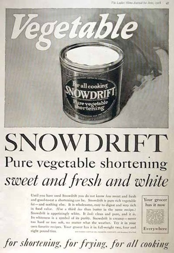 old Snowdrift advertisment
