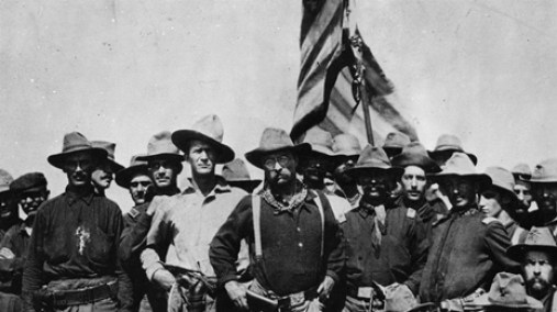 Thedore Roosevelt and Rough Riders