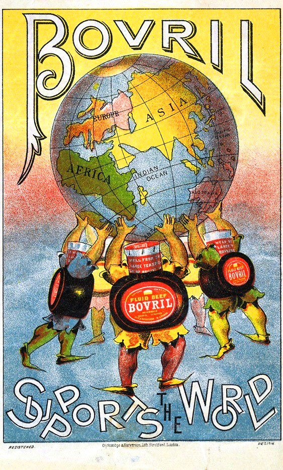 Vintage ad for Bovril beef extract