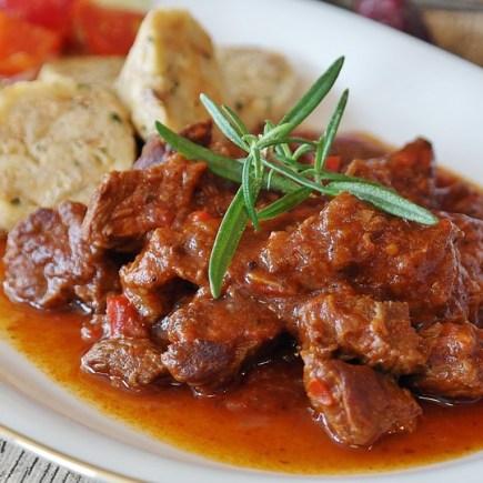 Hungarian Goulash, paprika based dish