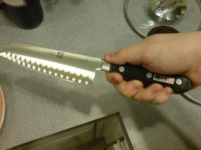 J.A. Henkel's Santoku chefs knife