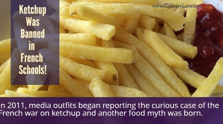 was ketchup banned in French schools