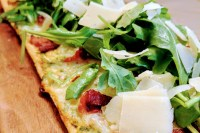 Bacon & White Truffle Flatbread